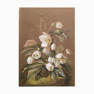 Krokuss White Flower Piece
