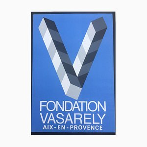 Vasarely Foundation in Aix, Provence Post