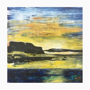 Landscape, Acrylic on Canvas