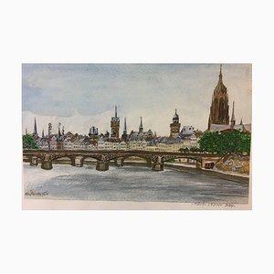 Frankfurt am Main, Watercolor