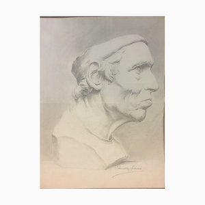 Lucca Jolanda, Portrait, Pencil on Paper