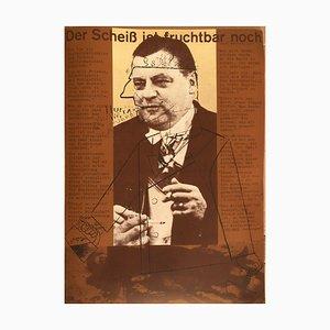 Franz Josef Strauss, Der Scheiß ist fruchtbar noch, Poster
