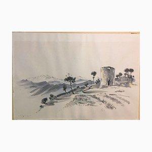 Adolf Schröter, Frankfurt Oder, 1959, Watercolor