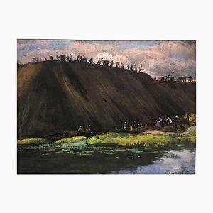 Miners, pastel