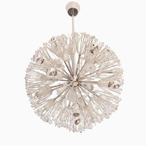 Sputnik Snowball Chandelier by Emil Stejnar for Rupert Nikoll, 1964