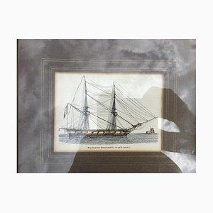Steel Ship Engravings