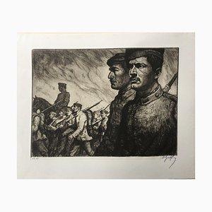 Oskar Graf, German Soldiers, 1915