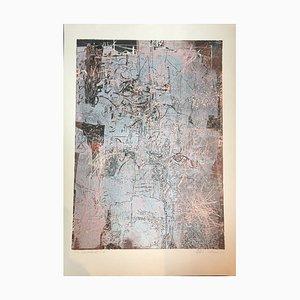 Helmut Reichenberg-Schulze, Berlin Landscape, Color Linocut