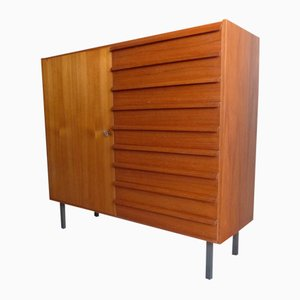 Danish Vintage Chest with 9 Drawers, 1950s