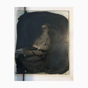 Junge auf einem Stuhl, 1870er