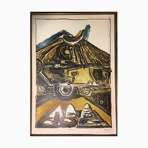 Lithographie Galdar II Gran Canaria, 1969