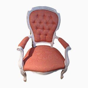 Louis Chillow Chick Pinker Armlehnstuhl im Chill-Stil