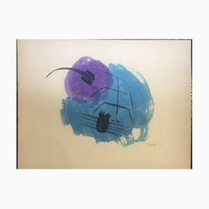 Takis Vassilakis PANAYIOTIS, Athens Insects, 1925, Color Lithograph