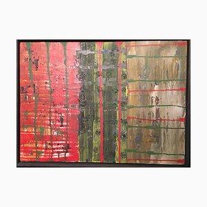 Henn Walter 1937, Frankfurt Now Richelbach, Composition in Red, Green & Earth, 1998