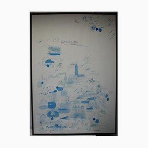 Wilhelm Schlote, Art & Book Cels 88, Galerie Hamburg