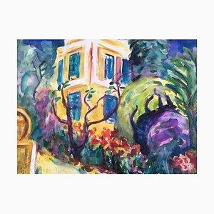 Heymo Bach, Rhodos, 1996, Watercolor