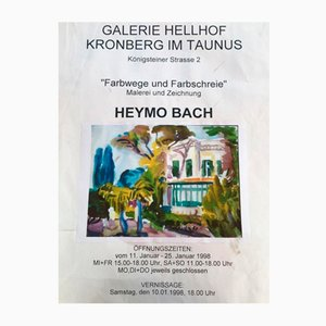 Heymo Bach, Kos, 1985, Acuarela