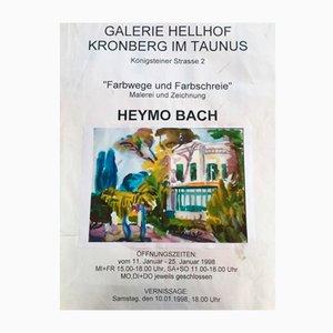 Heymo Bach, Kos, 1985, Watercolor