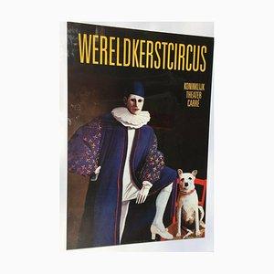 Affiche publicitaire de revaluation de cirque, 1991