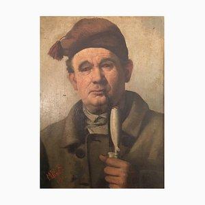 Marie Elisabeth, 1855-1933, Pipe Smoker