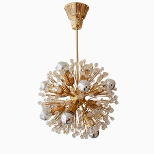 Sputnik Snowball Chandelier by Emil Stejnar for Rupert Nikoll, 1960s