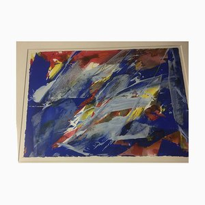 Tamschick Rüdiger 1942, Leipzig, Blue Red Yellow, 1993