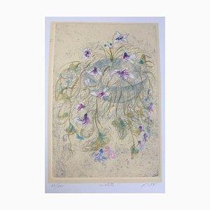 Monogrammist R, Flower Violette