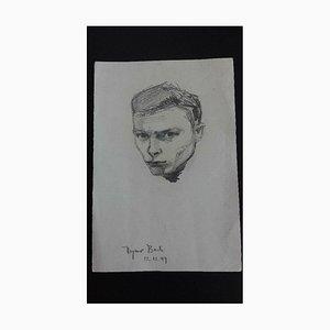 Bach Heymo 1926-2013, Tête d'un Jeune Homme