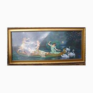 Swan Ride on the Lake, Oil Pressure