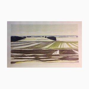 Erik Norgard, Oster Hassing Vendyxssel, Dänische Landschaft, 1920