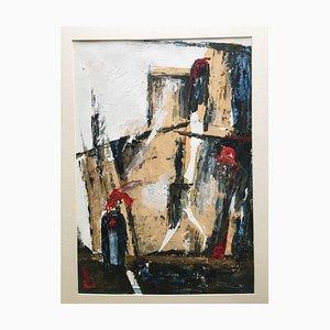 Abstrakte Acryl Collage