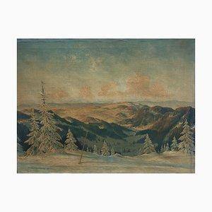 H. Kottenkamp, Winter View from Brocken, 1947