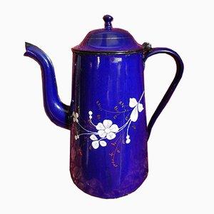 Cobalt Blue Enamel Coffeepot