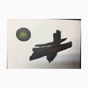 Hellmuth Mueller-Leuter, No. 23 Tachist Gemälde, Tinte