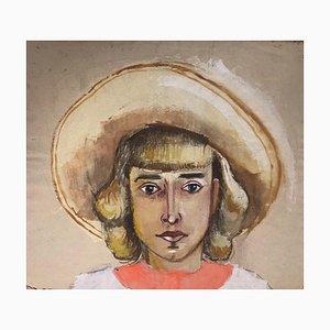 Schieser Becker Ingeborg, Young Girl, 1950s, Portrait