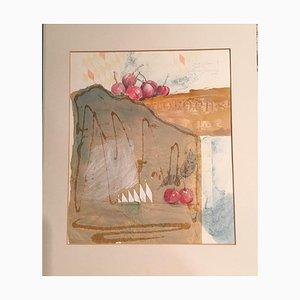 Leonore Zimmermann, 1987, Fruit Series, Aquarell