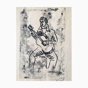 Karlheinz Kress, Guitar Games, Woodcut