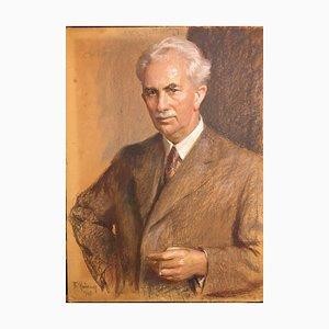 Reusing Fritz, Dusseldorf Cigarillo Mr. Feiner, 1940, Portrait
