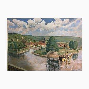 E. Hofmeister, Three Rivers Blick v. Dingelstedt Nettle-Thinking, 1941, Hann - Münden