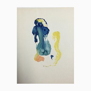 Hellmuth Mueller-Leuter Aquarell No. 26 Komposition