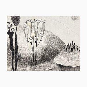 Vangel Naumovski, Coarok Coh, 1965, Indian Ink