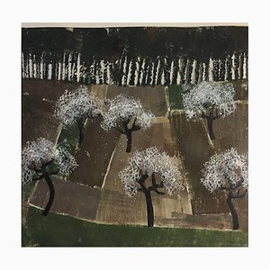 Trude von Güldenstubbe, Blühende Kirschbäume