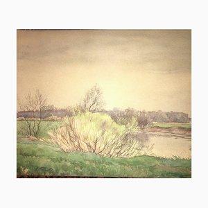 Hanny Franke Hanni Rhon, Taunus, Watercolor LS 417