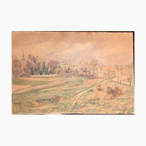 Christoph Tritzschler, Watercolor, 1920
