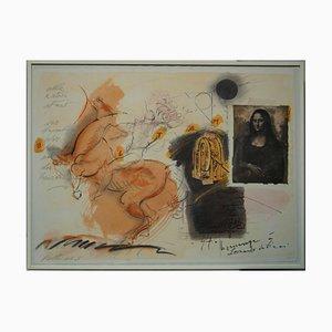 Alexander Vethers, Lyrics Leonardo da Vinci, Lithograph