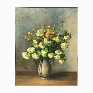 Schuberg Clara 1862-1941, Sommerblumenst Rauß in Westerwälder Kanne