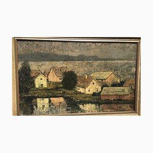 Lohe Eilert 1908 - 1973, Werdohl Kleinhammer Häuser, 1943, Gemälde