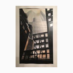 Petra Camnitzer, Wolkenkratzer, Collage
