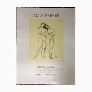 Arno Breker Poster, Paris Bodo Von Langenn, 1981
