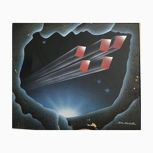 De Grootz Mc Donald, 1990s, Oil on Canvas